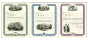 2017 Intaglio Prints for Legislative, Executive, and Judicial Branches