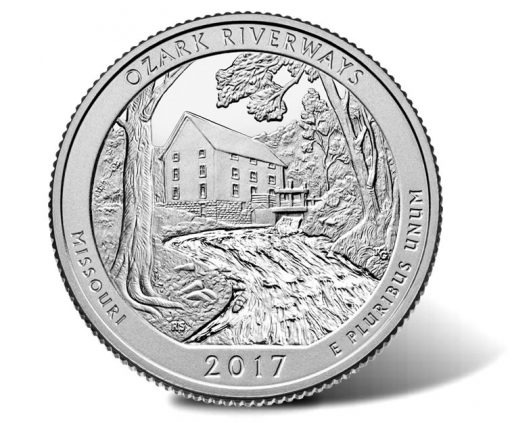 2017 Ozark National Scenic Riverways Quarter