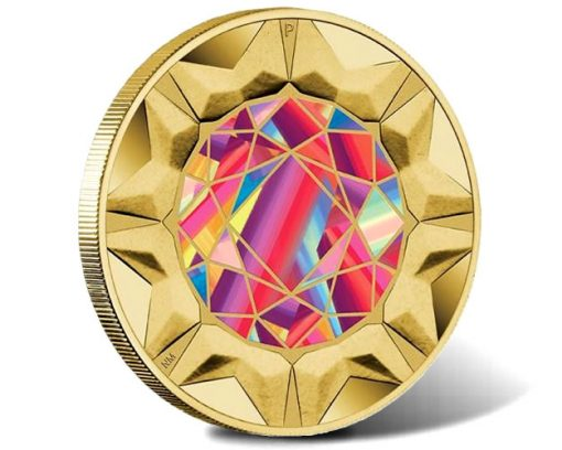2017 Rare Beauties Extraordinary Gemstones $1 Coin