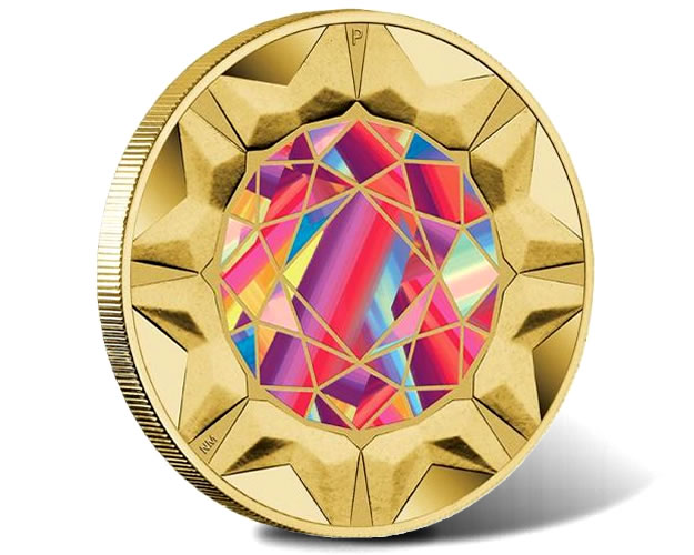 2017 Rare Beauties Extraordinary Gemstones $1 Coin
