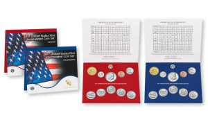 2017 United States Mint Uncirculated Coin Set