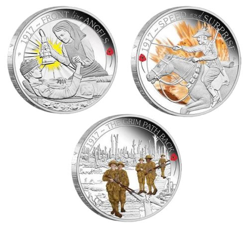 ANZAC Spirit 100th Anniversary 2017 Silver Proof Coins