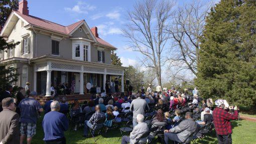 Frederick Douglass Quarter Launch Ceremony Audience