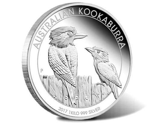 Australian Kookaburra 2017 1kg Silver Proof Coin