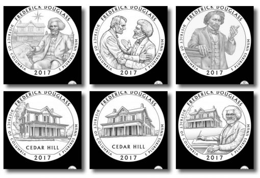 Design Candidates for 2017 Frederick Douglass National Historic Site Quarter