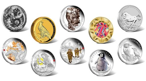 Perth Mint of Australia Collector Coins for April 2017