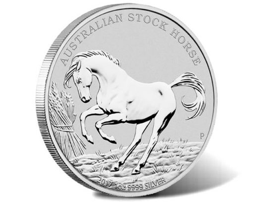 Stock Horse 2017 1oz Silver Coin