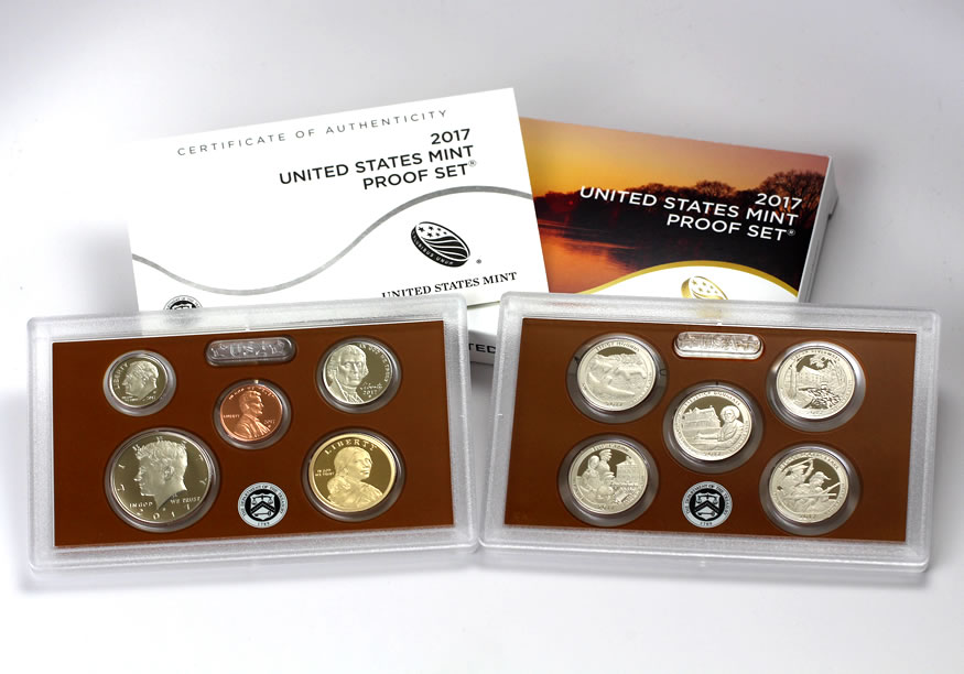 2017 coin mintage