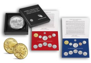 2017 Mint Set, Proof Gold Buffalo, and Douglas 5 Oz Coin for May 2017
