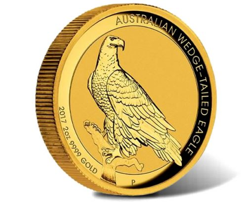 Wedge-tailed Eagle 2017 2oz Gold High Relief Coin