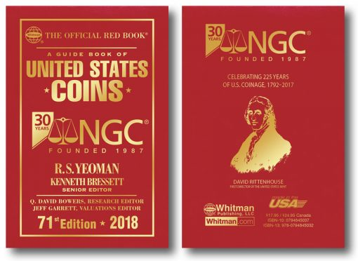 Whitman's NGC 30th Anniversary Official Red Book