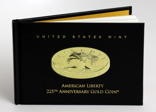 2017 American Liberty Gold Coin Booklet