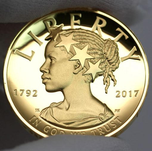 2017 American Liberty Gold Coin - Obverse, a