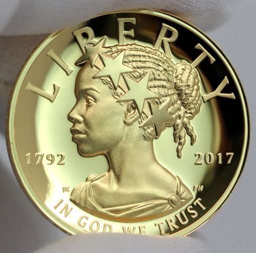 2017 American Liberty Gold Coin - Obverse, b