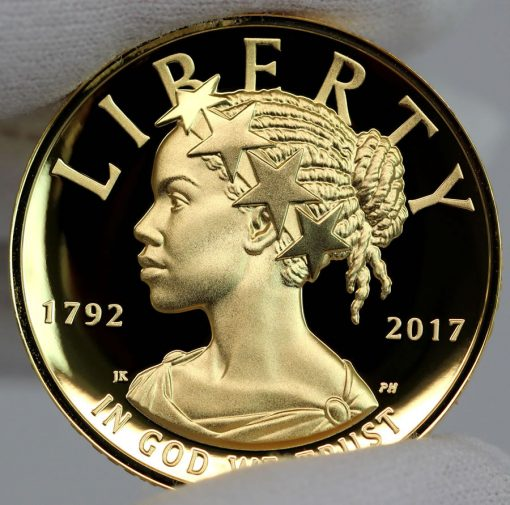 2017 American Liberty Gold Coin - Obverse, c