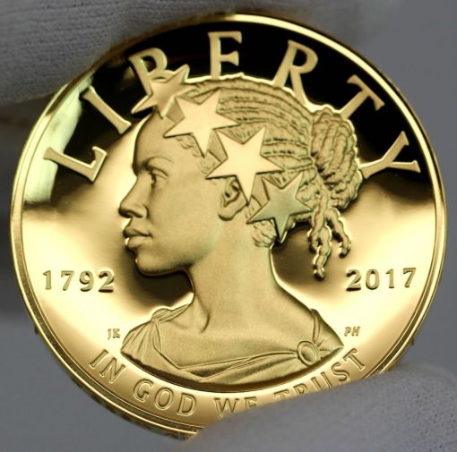 2017 American Liberty Gold Coin - Obverse, d