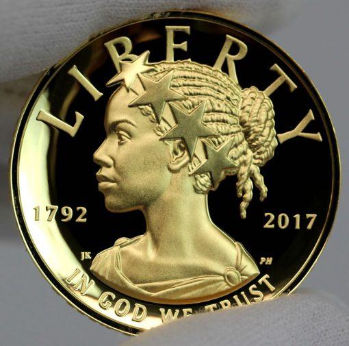 2017 American Liberty Gold Coin - Obverse, e