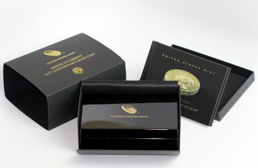 2017 American Liberty Gold Coin Packaging