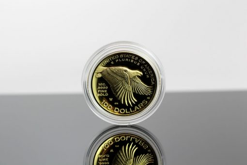 2017 American Liberty Gold Coin - Reverse, Encapsulated, BlackBg