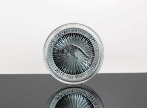 2017 Australian Kangaroo 1 oz Silver Bullion Coin