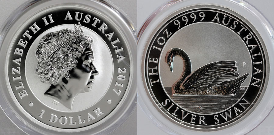 2017 Silver Swan Coins Realizing Strong Prices Coin News
