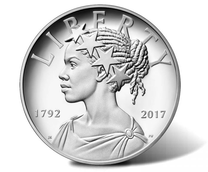 2017-P Proof American Liberty Silver Medal - Obverse