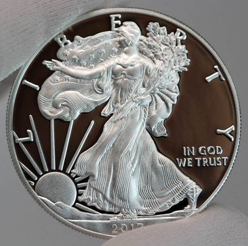 2017-S Proof American Silver Eagle - Obverse