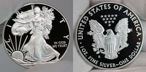 2017-S Proof Silver American Eagle Commanding Price Premiums