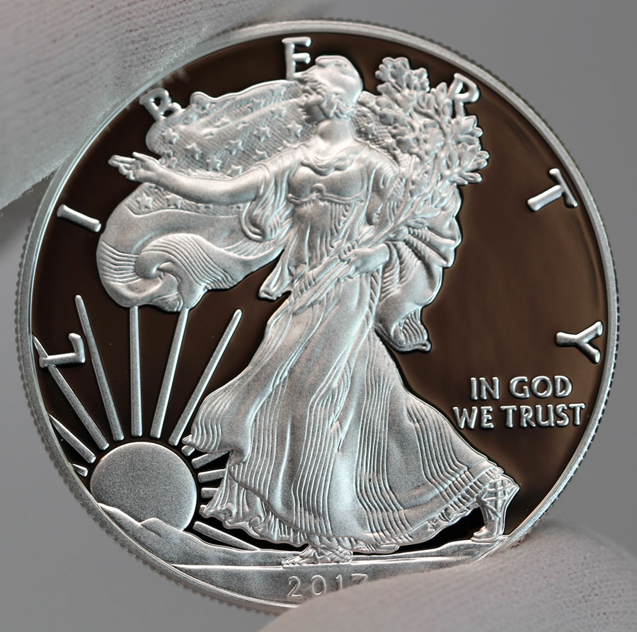2017 S Proof Silver Silver Eagle Commanding Price Premiums