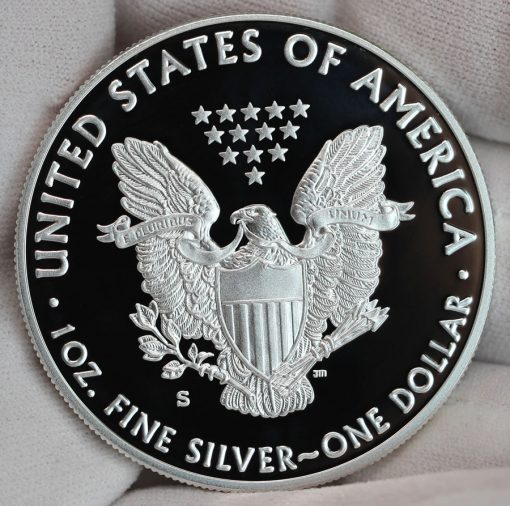 2017-S Proof American Silver Eagle - Reverse, a