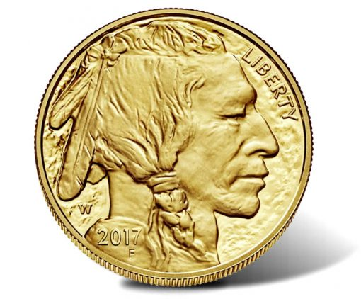 2017-W $50 Proof American Buffalo Gold Coin - Obverse