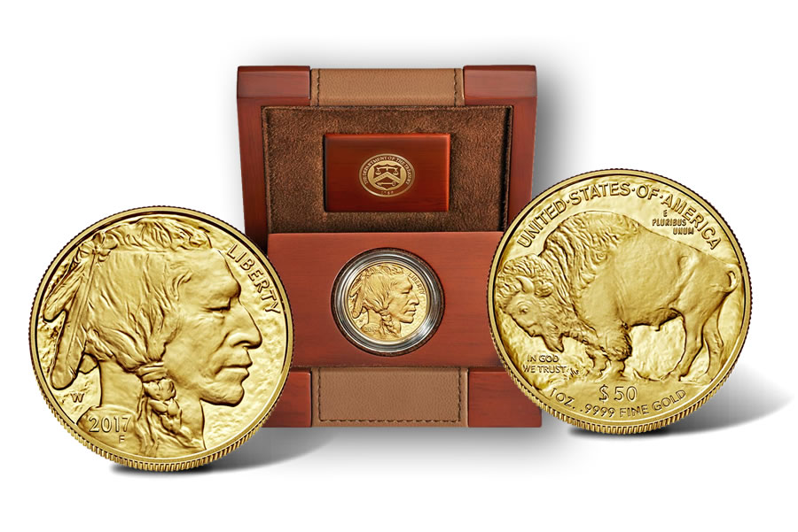 2017 W 50 Proof American Buffalo Gold Coin Released