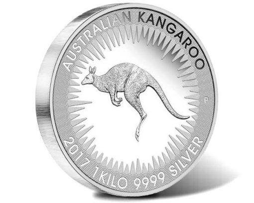 Australian Kangaroo 2017 1kg Silver Proof Coin