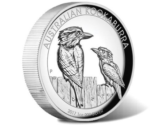 Australian Kookaburra 2017 1oz Silver Proof High Relief Coin