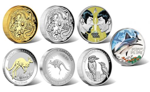 Perth Mint of Australia Collector Coins for May 2017
