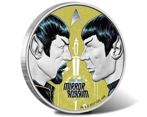 Star Trek: The Original Series - Mirror, Mirror 2017 1oz Silver Proof Coin