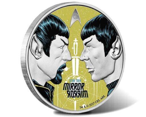 Star Trek: The Original Series - Mirror, Mirror 2017 1oz Silver Proof Coin