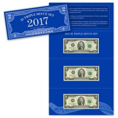 2017 $2 Triple Deuce Set