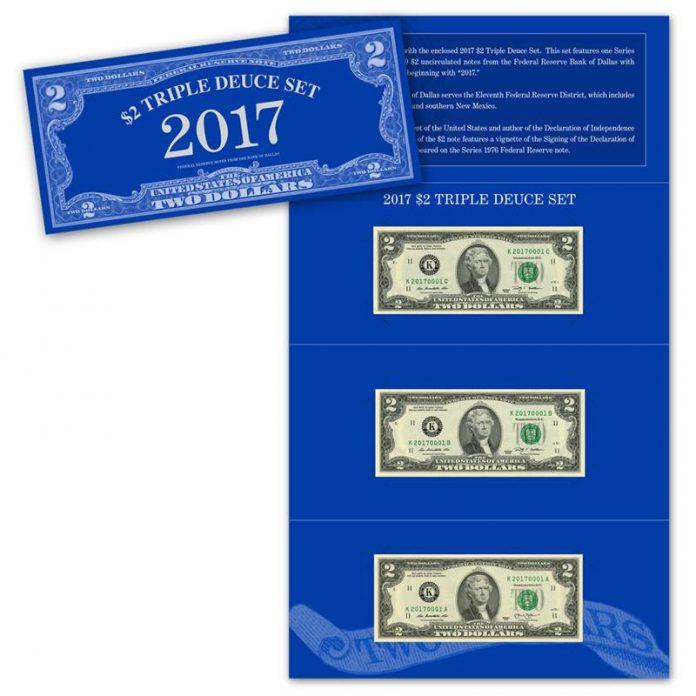 2017 $2 Triple Deuce Set