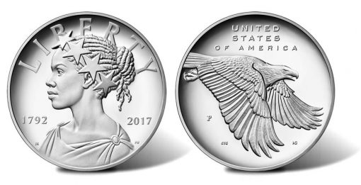 2017-P Proof American Liberty Silver Medal - Obverse and Reverse