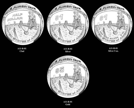 Apollo 11 R-01 Series Designs
