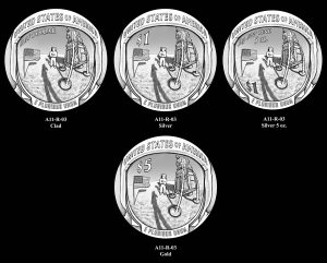 2019 Apollo 11 Commemorative Coin Designs Reviewed