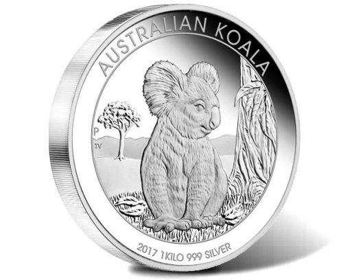 Australian Koala 2017 1 Kilo Silver Proof Coin