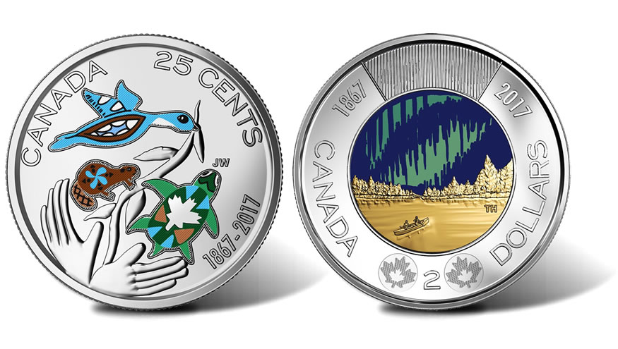 Canadian 150th Anniversary Coins In Circulation Coin News