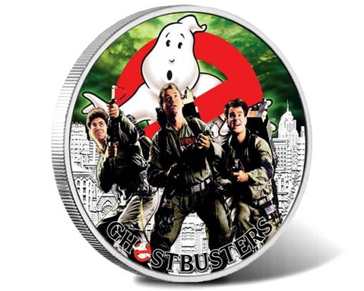 GhostbustersTM Crew 2017 1oz Silver Coin