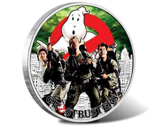 GhostbustersTM Crew 2017 1oz Silver Coin