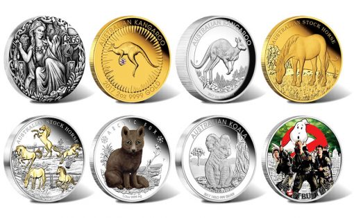 Perth Mint of Australia Collector Coins for June 2017