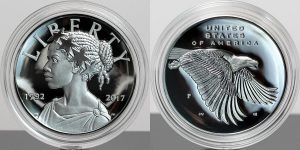 2017-P Proof American Liberty Silver Medal Sales at 33,075