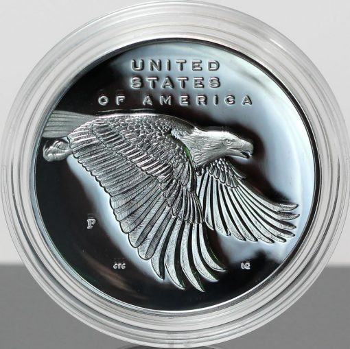 Photo 2017-P Proof American Liberty Silver Medal - Reverse, Encapsulated