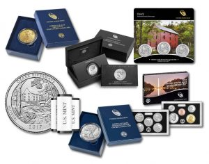 Ozark Riverways Quarter, Silver Coins and American Liberty Medal for June 2017